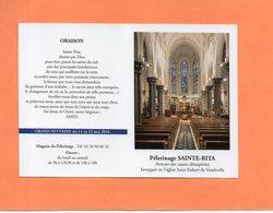 CALENDRIER DE POCHE. PELERINAGE.RELIGION. VENDEVILLE (NORD ) Achat Immédiat - Calendriers