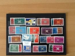 Europa CEPT Year 1963 MNH - Timbres