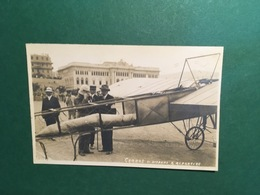 Cartolina Garros Si Dispone A Ripartire - 1910 Ca. - Milano (Milan)