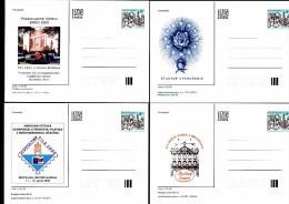 Année Complète De 21 Entiers Postaux Cartes 2000 CDV 36 à  CDV 56 - Entiers Postaux