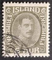 1920, King Christian LX, Island, Iceland, *,**, Or Used - 1873-1918 Dänische Abhängigkeit