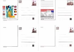 Année Complète 1995 De 9 Entier Postal  Hockey Eglise St Georges Expo Philatélique Conférence Ouvrière Mondiale - Entiers Postaux