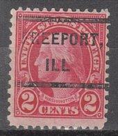 USA Precancel Vorausentwertung Preo, Locals Illinois, Freeport 635-232 - Vereinigte Staaten