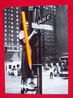 FOTOGRAFIA NEW YORK VIA BALBO FESTEGGIAMENTI PER LA II° CROCIERA ATLANTICA 1933 - Aviation