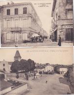 (43)   Lot De 2 Cartes De LA COTE ST ANDRE - Autres Communes