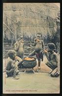 ZULU CHILDREN EATING MEALIES - Afrique Du Sud