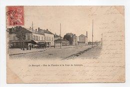 - CPA LE BOURGET (93) - Rue De Flandre Et Le Pont De Ceinture 1903 - Collection A. Béal - - Le Bourget