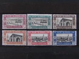 """ITALIA Colonie Libia -1927- """"1^ Fiera Tripoli"""" Cpl. 6 Val. MH* (descrizione) - Libye"""