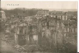 Photo - Thème Guerre - Verdun En Ruines - Bombardement - Meuse 55 - - War, Military
