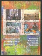 POLAND 2005 MICHEL NO BL.168 USED /zx/ - 1944-.... Republik