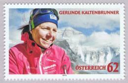 Austria 2012 Gerlinde Kaltenbrunner Mt. Everest Mountain Nepal China MNH ** - Barcos