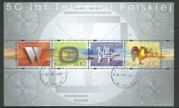 POLAND 2002 MICHEL NO BL 154 MS USED - Gebraucht