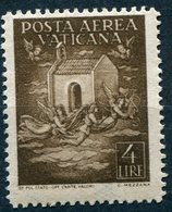 Vaticano - 1947 - Posta Aerea 4 Lire ** - Poste Aérienne