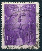 Vaticano - 1947 - Posta Aerea 15 Lire (o) - Poste Aérienne