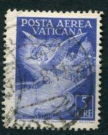 Vaticano - 1947 - Posta Aerea 5 Lire (o) - Poste Aérienne
