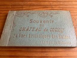 Album De Cartes Postales Du «château De Coucy» - France