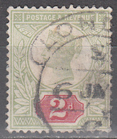 GREAT BRITAIN        SCOTT NO.  113    USED     YEAR  1887 - 1840-1901 (Victoria)