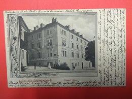 Gruss Aus Sauerbrunn- R, Rohitsch-Sauerbrunn, Rogaška Slatina, Neuner Haus 1901 - Slovenia