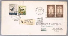 USA, Angola 1959, Titusville-Luanda, Retour - Angola