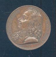 (PAYS-BAS) Médaille– Avers : Effigie : Hermannus Boerhaave – Revers « NATUS VOOZOUTI PROPE LEIDAM IN HOLLANDIA ----> - Pays-Bas
