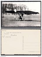 6365 AV06 AK PC CARTE PHOTO1088 L AEROPLANE VUIA I BIS A BAGATELLE NON CIRCULER TTB - ....-1914: Precursori