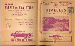 NIVELLES – Plan De La Ville (1960) - Cartes Géographiques