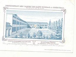 PORSELEINKAART   CARTE PORCELAINE Kortrijk  School Ecole  18 X 12 Cm - Kortrijk