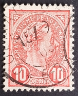 1895, Grand Duke Adolf Of Luxembourg, Duche, Used - 1895 Adolphe Right-hand Side