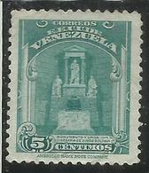 VENEZUELA 1947 BOLIVAR URN CENT. 5c MLH - Venezuela