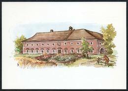 C4352 - TOP Künstlerkarte - Vierkanthof In Au Bezirk Haag - Pfingstsammlung Des Landes Niederösterreich - Amstetten