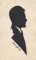Silhouette Of A Man , Karlovac Croatia 1929 - Silhouette - Scissor-type