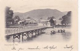 LUSS, Argyl & Bute, Scotland, PU-1907; Luss From The Pier - Bute