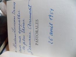 GERMAINE ACREMANT. PASTORALES. DEDICACE SIGNEE - Books, Magazines, Comics