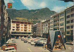 Andorra - Les Escaldes - Place Roc Blanc - Cars - VW 1500 - Alfa Romeo - Andorre