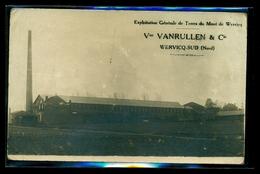 CPA  WERVICQ  SUD  Vve VANRULLEN & Cie  EXPLOITATION DE TERRES DU MONT DE WERVICQ  W33 - France