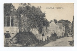 91 GUILLERVAL / Garsanval - RECTO / VERSO-- B53 - Autres Communes