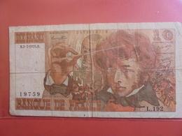 FRANCE 10 FRANCS 1975 CIRCULER - 1962-1997 ''Francs''