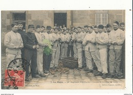 LE MANS 26E REGIMENT D ARTILLERIE CORVEE DE POMME DE TERRE CPA BON ETAT - Régiments