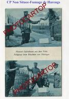 Fumage De HARENGS-Conservation-Poissons-Non Situee-CARTE Imprimee Allemande-Guerre 14-18-1WK-Militaria-Feldpost- - Oorlog 1914-18