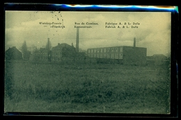 CPA  WERVICQ  SUD  RUE DE COMINES  FABRIQUE A.& L. DALLE  W33 - France