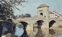 Postcard The Monnow Bridge Monmouth [ Dixon ] My Ref  B12997 - Monmouthshire