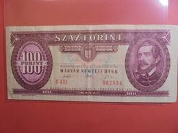 HONGRIE 100 FORINT 1993 CIRCULER - Hongrie