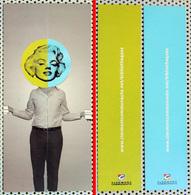 2 Marque-page Signet : Formant Un Puzzle Tête De Marilyn Monroe Sur Corps De Lecteur - Marque-Pages
