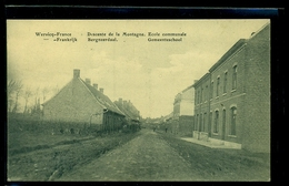 CPA  WERVICQ  SUD  DESCENTE DE LA MONTAGNE  ECOLE COMMUNALE  W33 - France