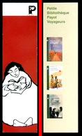 Marque-page Signet : Petite Bibliothèque PAYOT Voyageurs (marron) - Marque-Pages