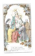 IMAGE PIEUSE..édit. Turgis..OEUVRE De La SAINTE ENFANCE...( ROSAIRE)..2 Scans - Images Religieuses