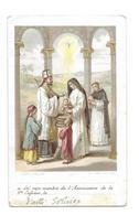 IMAGE PIEUSE..édit. Turgis..OEUVRE De La SAINTE ENFANCE....2 Scans - Images Religieuses