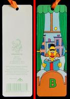 Marque-page Signet : Allemagne : 1 Rue Sésame - BART Lecture Dans Son Lit - Marque-Pages