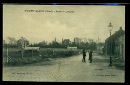 CPA  WERVICQ  SUD  ROUTE DE LINSELLES   W33 - France