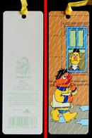 Marque-page Signet : Allemagne : 1 Rue Sésame - ERNEST Et BART Sous La Pluie - Marque-Pages